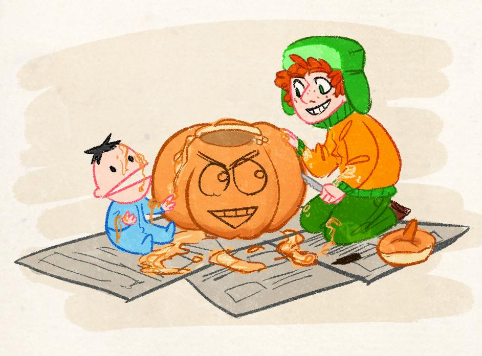 SP - Pumpkin Carving by Kayotics