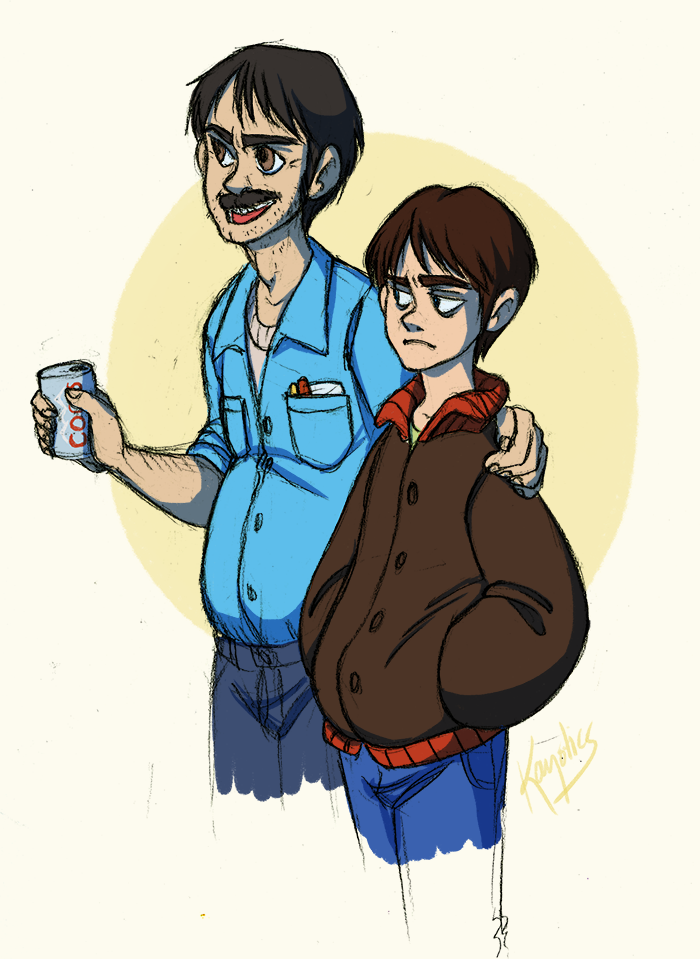 SP - like father, like son by Kayotics
