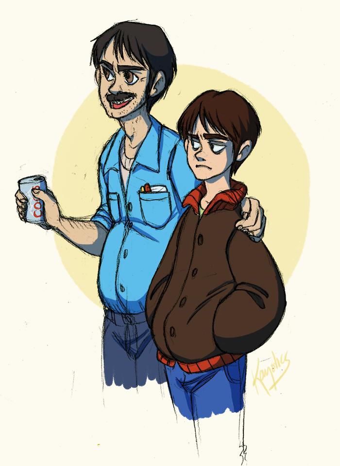 SP - like father, like son by Kayotics