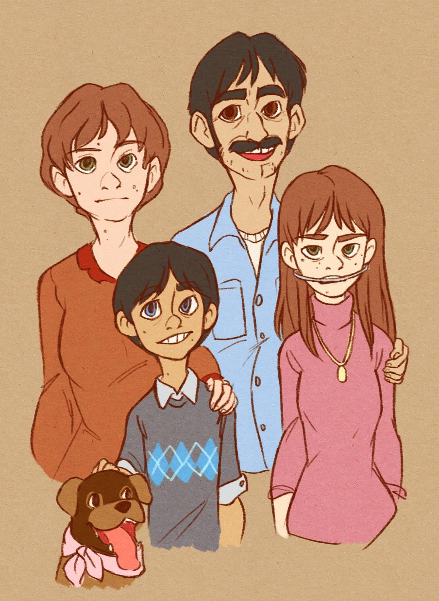 SP - Marsh Family Portrait by Kayotics