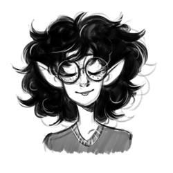 Rosemary doodle by Kayotics