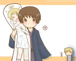 :APH: Dakimakura by s-a-n-d-y