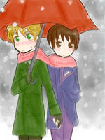 :APH: Under the snow by s-a-n-d-y