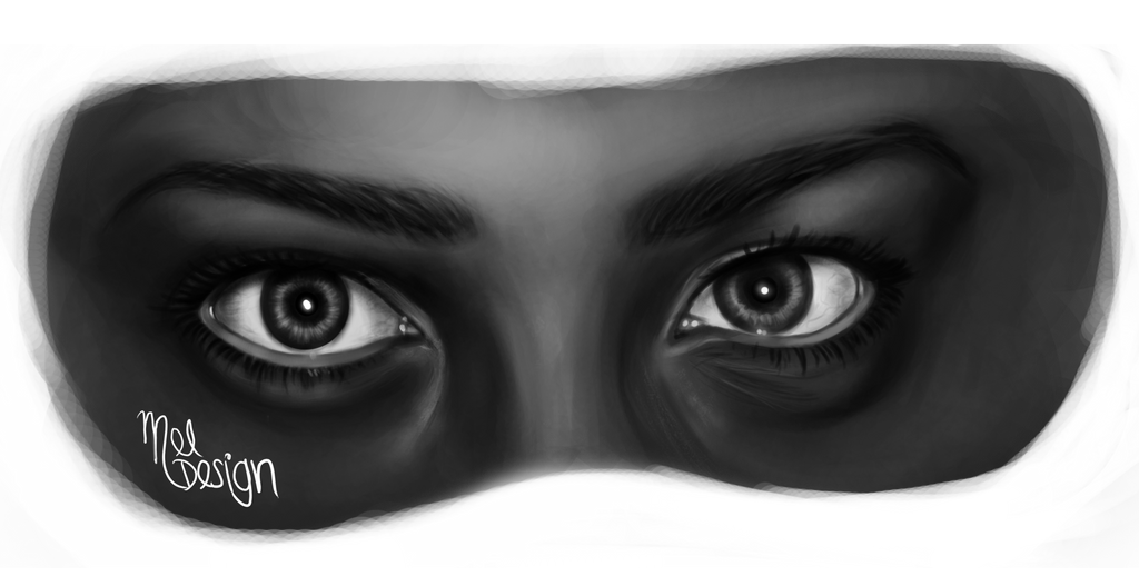 Eyes Study by Mel-Design