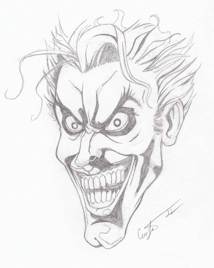 How to Draw The Joker  Easy Drawing Tutorials