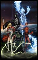 Heroes by Webcomicfan