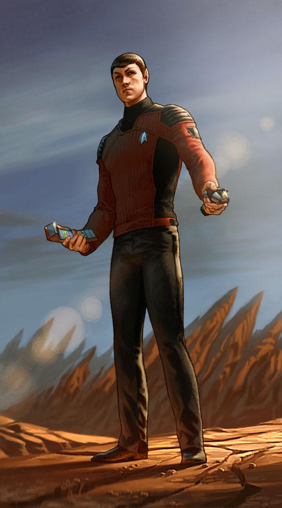 Vulcan by Webcomicfan