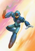 MegaMan X by Webcomicfan