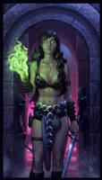 Dragon Flame: Level 2 by Webcomicfan