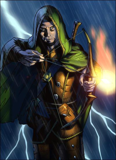Elven Ranger Portrait Evlon the elven ranger byElven Ranger Portrait