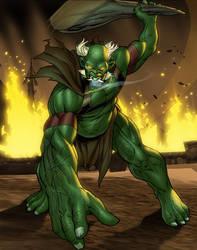 Primal Fury by Webcomicfan