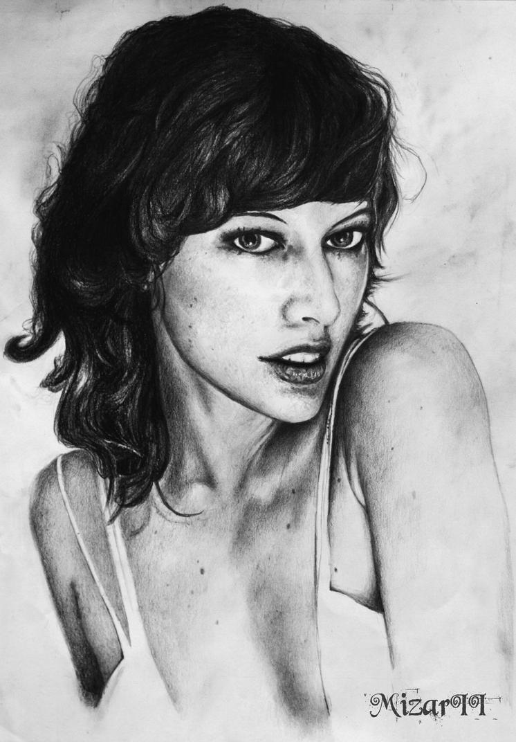 Mila Jovovich by MizarII