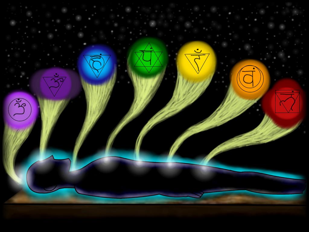 The Seven Chakras by Nylten on DeviantArt 7 Chakra Wallpaper