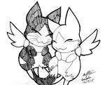 Shadowfluff and Puffball