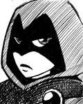 Inktober 10: Raven