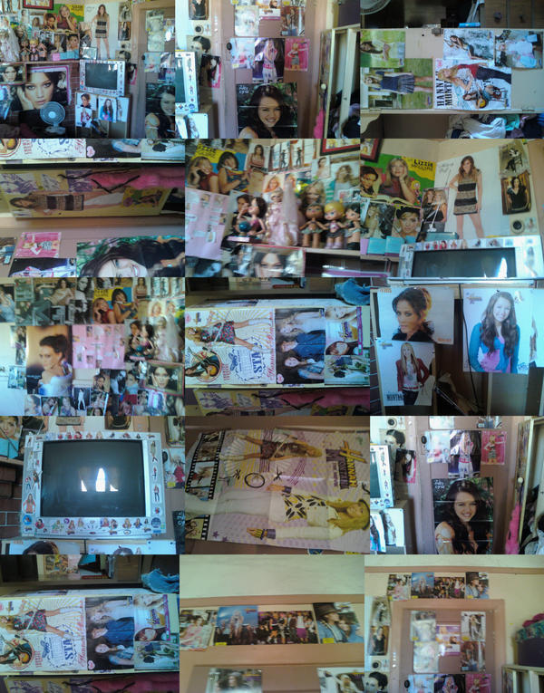 my hilary and miley bedroom by hilaryduff4ever12 on deviantart
