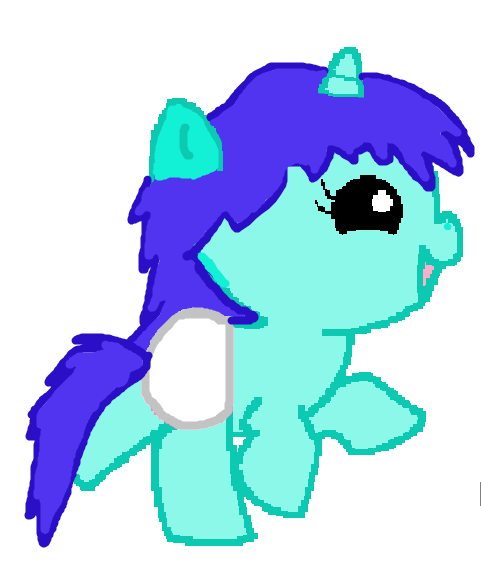 Baby Unicorn Adoptable by AGrimSmile on DeviantArt