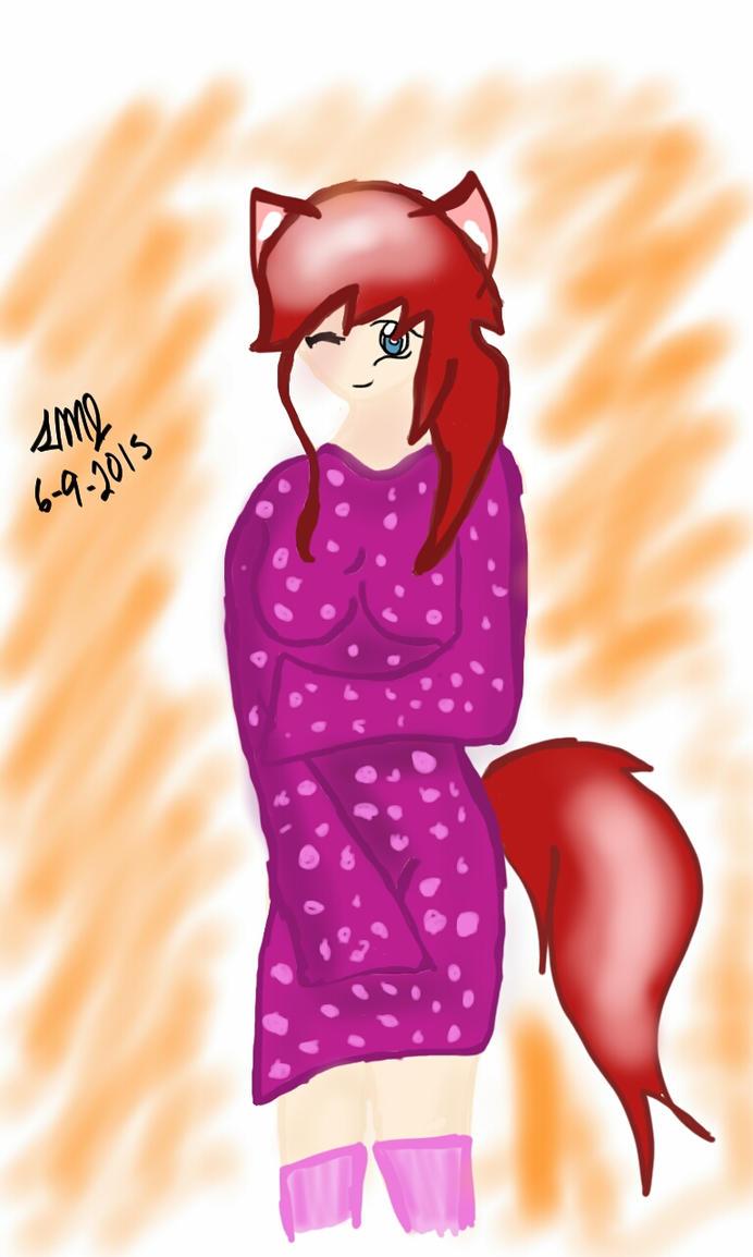 Kimono Doodle~ by AGrimSmile