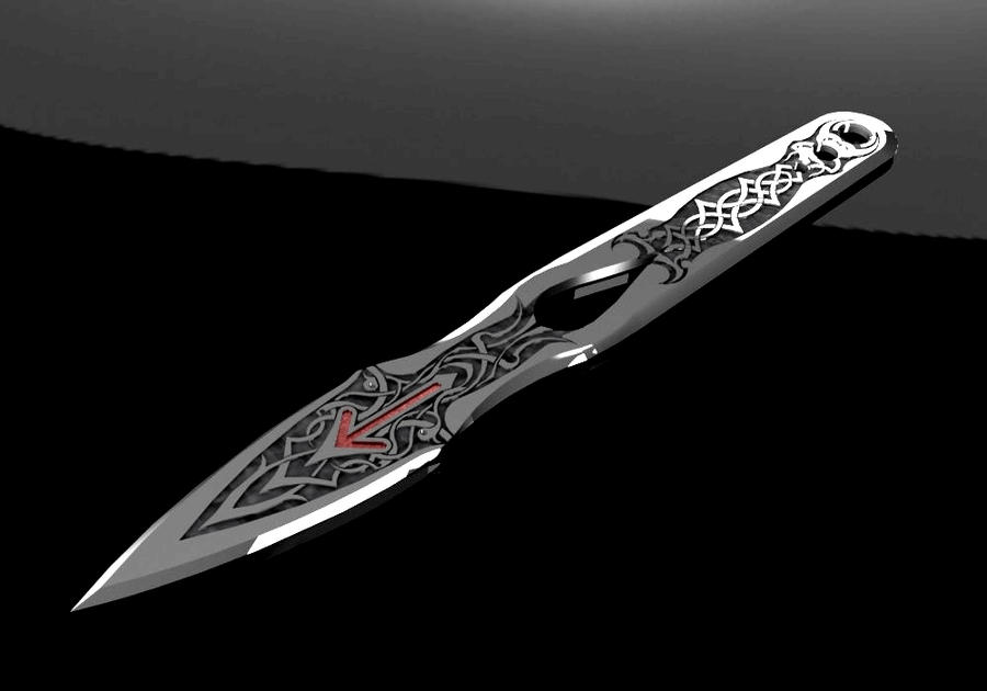 Knife For Throwing By Mort616 On DeviantArt