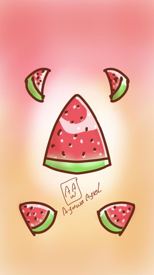 watermelon dimension