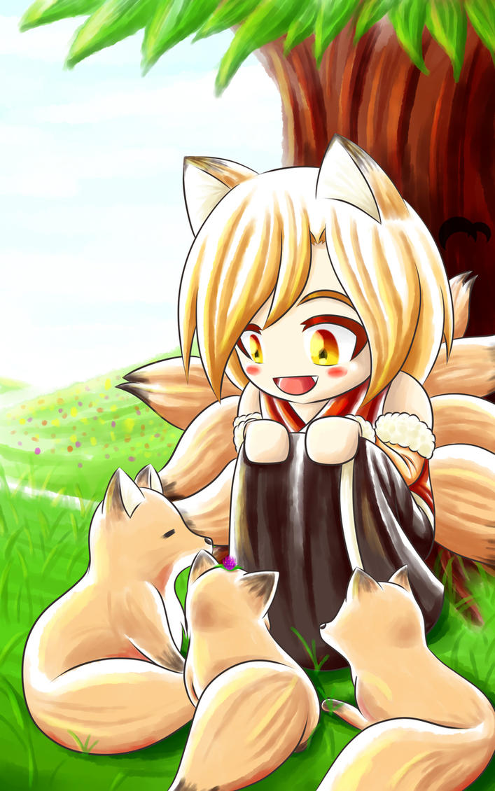 [OC-CSA] Fox Spring by moonmute