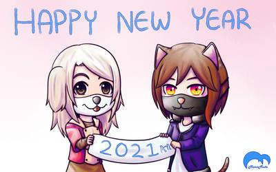 [OC] Happy New Year - 2021