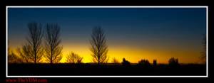 Sunrise over Canterbury