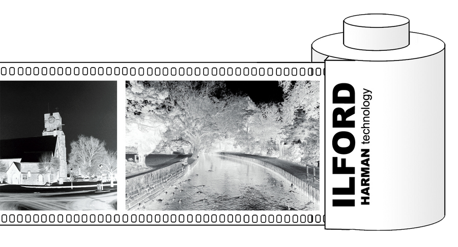 Ilford film negatives