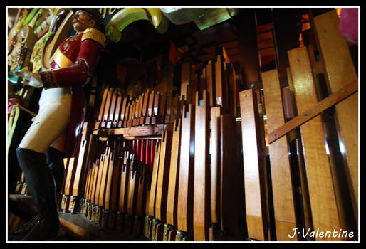 Automatic Organ at Preston Steam Rally 2012