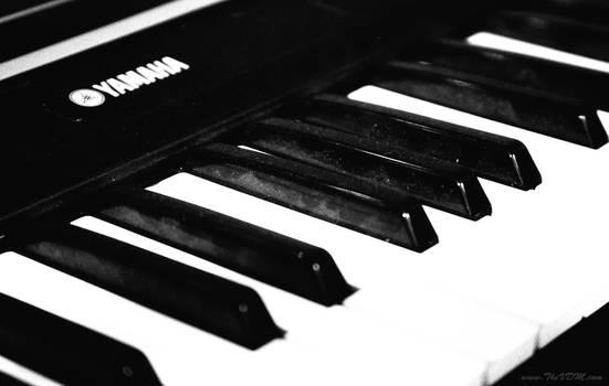 Yamaha Keyboard - Ilford SFX 200 Red 25