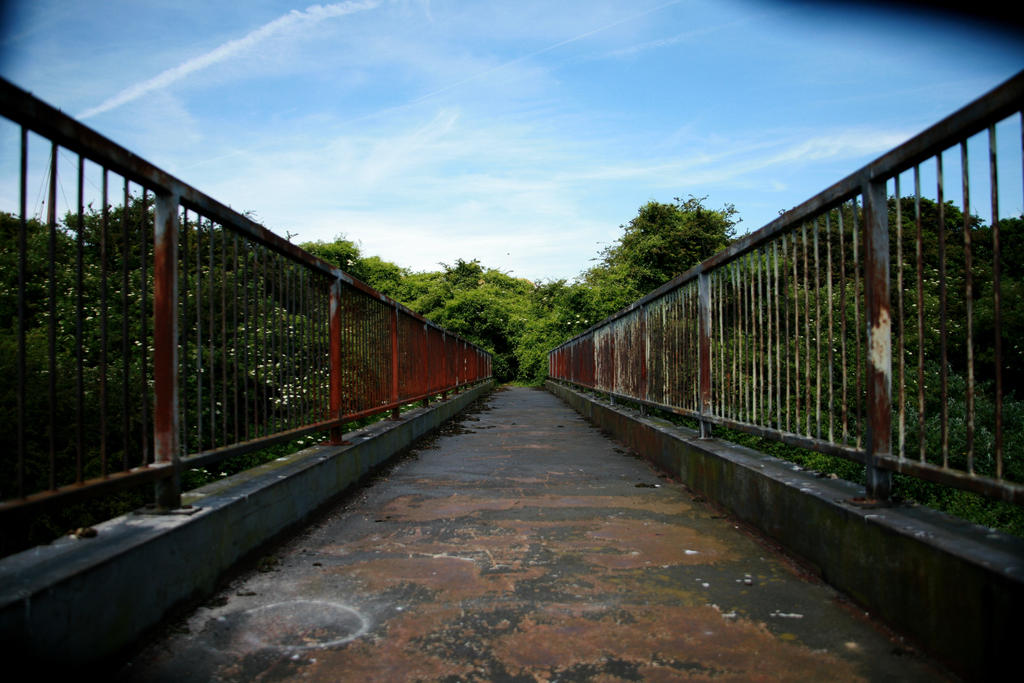 Old bridge leading to Pegwell Bay Hoverport