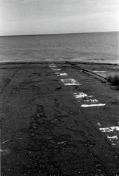 Former Hover Port, Pegwell Bay, Launch Markings by thevdm
