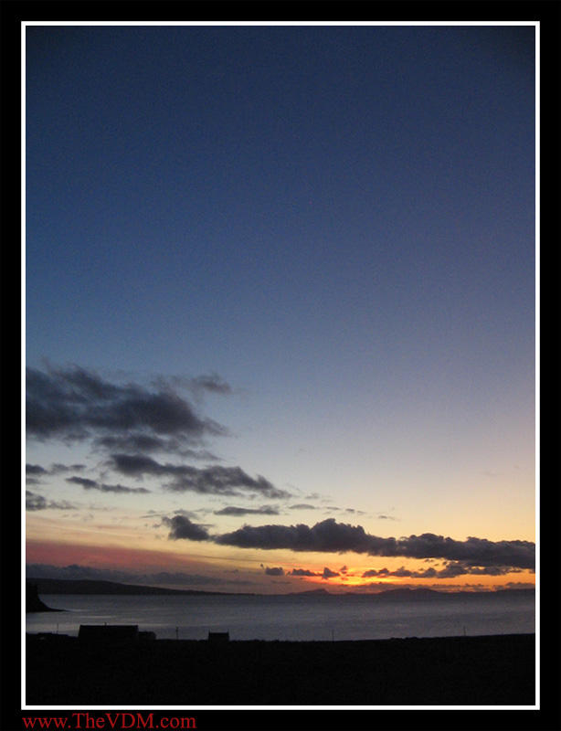 Sunset from Skye Part 2