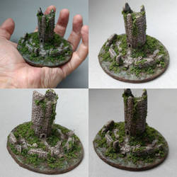 Torre en miniatura