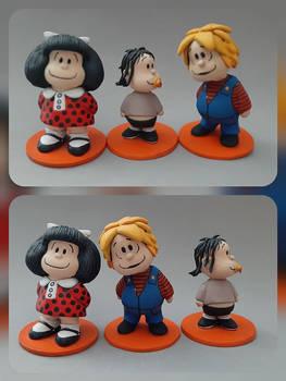 Mafalda, Miguelito y Guille