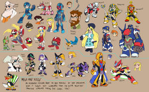 Mega Man ALIGN by MauroFonseca