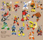 Mega Man ALIGN Robot Masters (1 and 2)