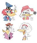 Ducks and Birdbeaks