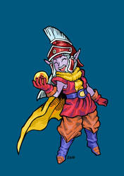 COMM Dragonball Fusion character