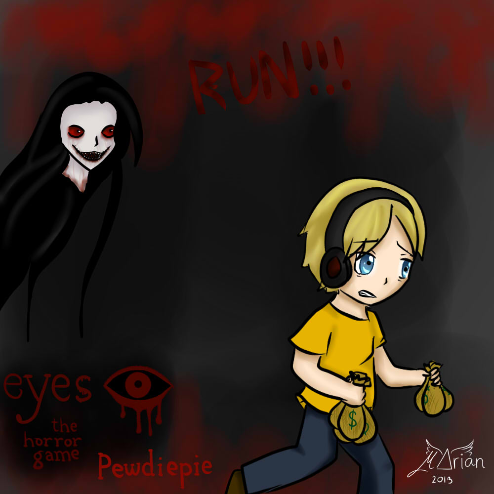 Pewdiepie - Eyes by MARIANoiz