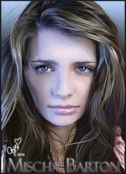 Mischa Barton Portrait by Joaris333