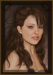 Natalie Portman Portrait by Joaris333