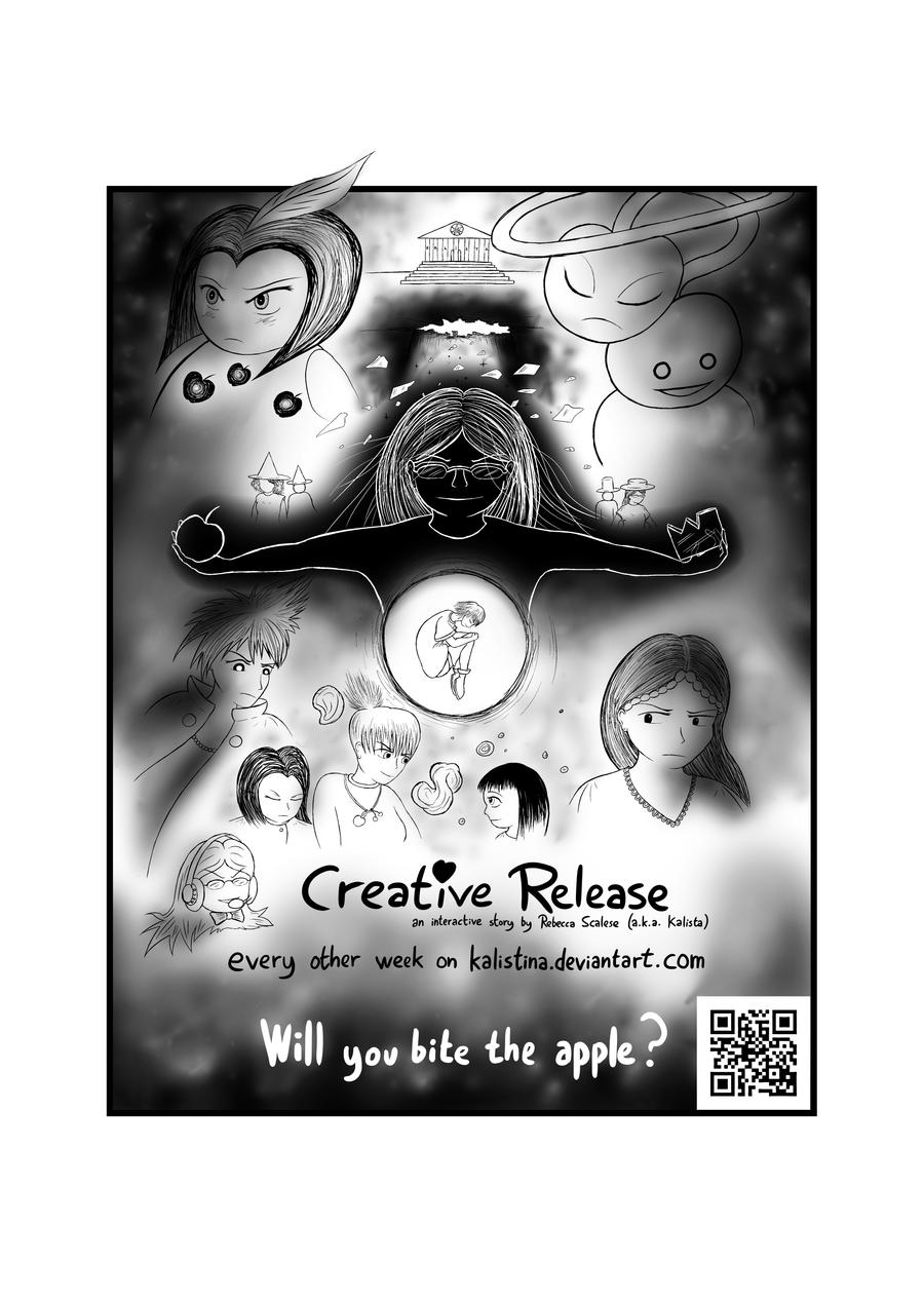 Creative Release -  Flyer July '12 by kalistina