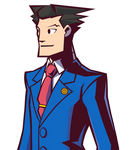Phoenix Wright in Ghost Trick