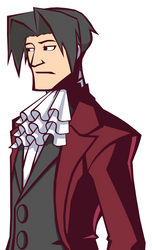 Miles Edgeworth In Ghost Trick by Rockerfox999