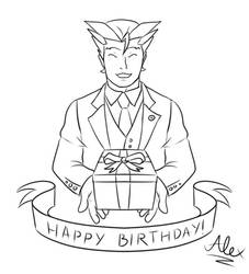 A Just Birthday by Rockerfox999