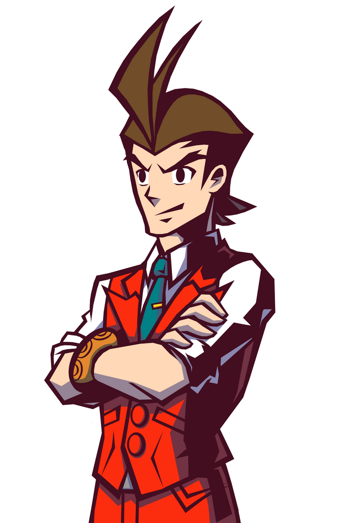 Apollo Justice - Ghost Trick Style by Rockerfox999
