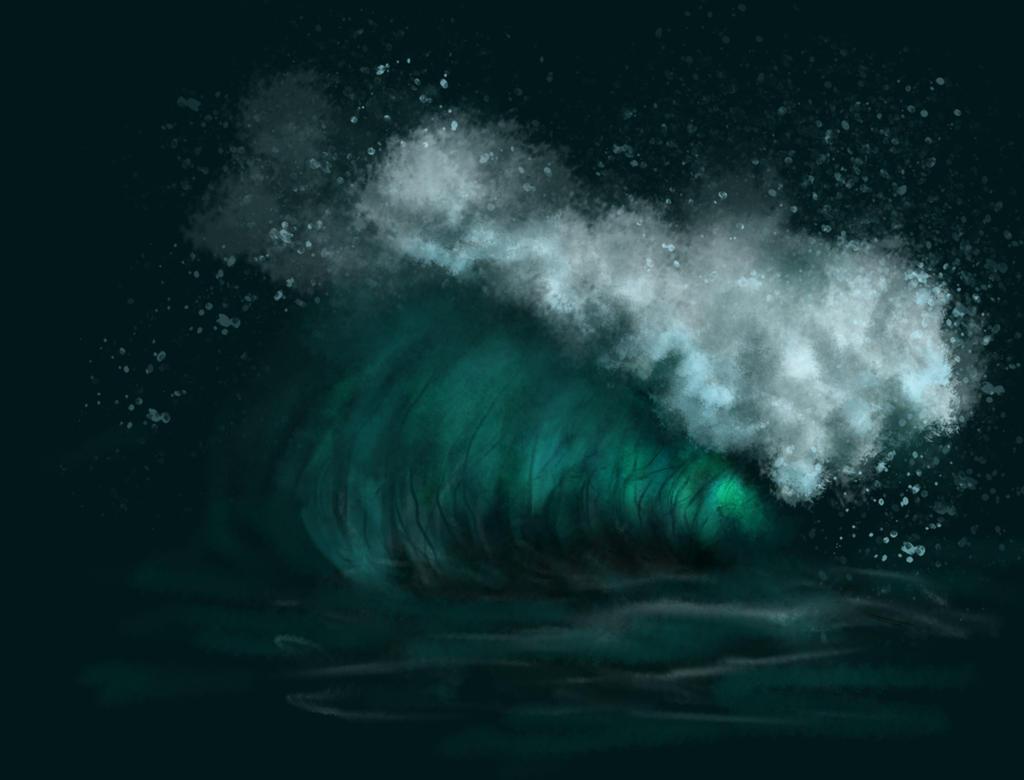 Sea Waves Exercise by Kizzy-i-Keinstein