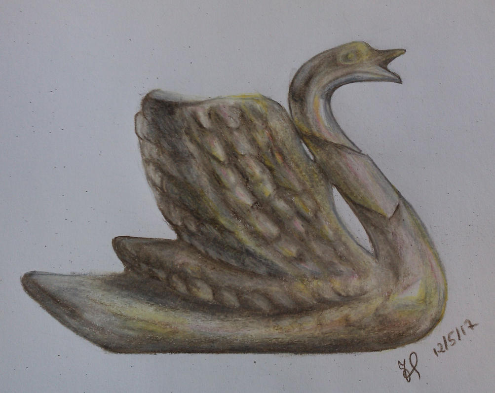 Exercise - Porcelain Swan by Kizzy-i-Keinstein