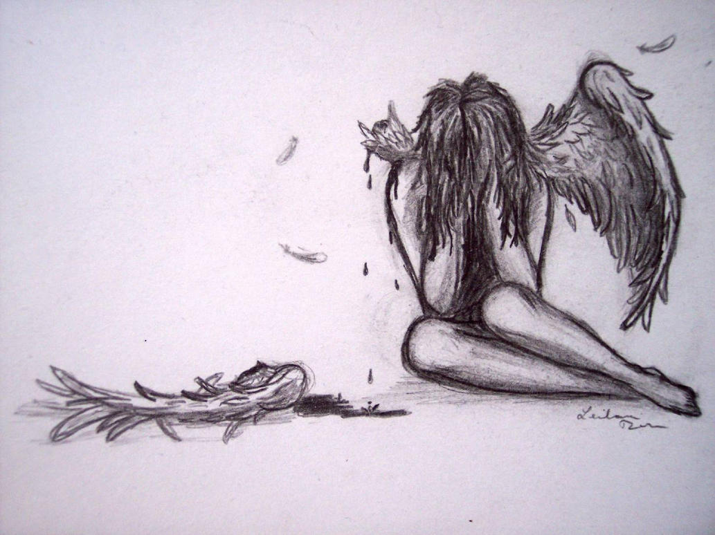 Broken Wing By Iwishyoutheworst On DeviantArt